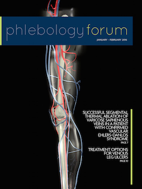 Phlebology Forum January 2016-COVER