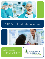 Download the ACP Leadership Academy Brochure